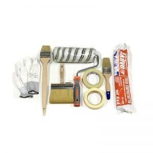 Kit Rullo + Pennelli con accessori